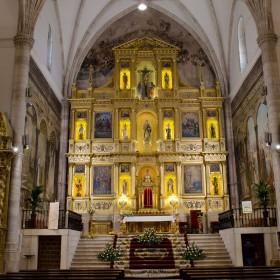 Santa María la Mayor, retablo