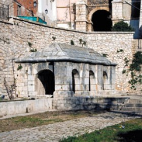 Fuente Zacatin/barranco; Fechas: Construcción 1779; Restauración 1983