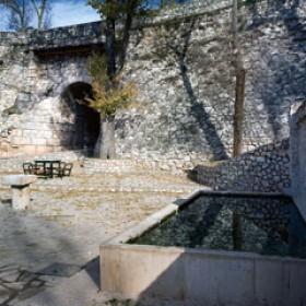 Fuente Pilarejo; Fechas:  Construcción desconocida; Restauración 1950 y 2005
